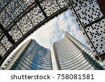 milan   may 24  modern... | Shutterstock . vector #758081581