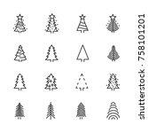 vector image of set of...   Shutterstock .eps vector #758101201