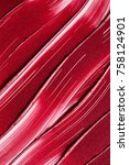 lipstick texture background | Shutterstock . vector #758124901