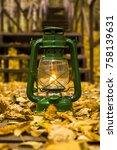 autumn photography  twilight ... | Shutterstock . vector #758139631