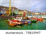 picturesque scenery of the cobh ...   Shutterstock . vector #75815947