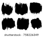 vector collection or set of... | Shutterstock .eps vector #758226349