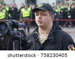 kiev  ukraine   october 18 ... | Shutterstock . vector #758230405