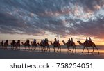 broome  western australia   sep ... | Shutterstock . vector #758254051