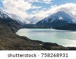 mt cook  new zealand | Shutterstock . vector #758268931