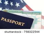 united states of america... | Shutterstock . vector #758322544