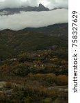 tzoumeka mountain in arta...   Shutterstock . vector #758327629