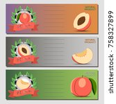 abstract vector illustration... | Shutterstock .eps vector #758327899
