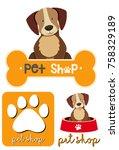 different designs of logo for...   Shutterstock .eps vector #758329189