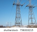 Supports High Voltage Lines...
