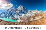 Valley Of Himalayan Mountains...