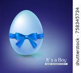 It S A Boy Baby Shower Concept...