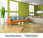 part of the modern living room... | Shutterstock . vector #75835003