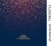 beautiful festival glitter... | Shutterstock .eps vector #758350711