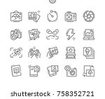 photo well crafted pixel... | Shutterstock .eps vector #758352721