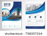 template vector design for... | Shutterstock .eps vector #758357314