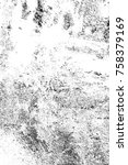 grunge black and white seamless ... | Shutterstock . vector #758379169