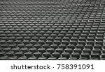 background of  gray chairs... | Shutterstock . vector #758391091