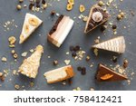 Assortment Of Pieces Of Cake O...