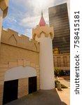Small photo of LAS VEGAS, USA - SEP 21, 2017: Excalibur Hotel and Casino, Las Vegas Strip in Paradise, Nevada, United States