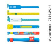 design template of entrance... | Shutterstock .eps vector #758419144