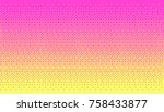 pixel art dithering background... | Shutterstock .eps vector #758433877