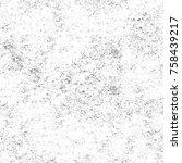 grunge black and white seamless ...   Shutterstock . vector #758439217