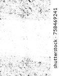 grunge black and white seamless ... | Shutterstock . vector #758469241
