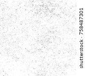 grunge black and white seamless ... | Shutterstock . vector #758487301