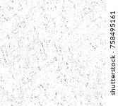 grunge black and white seamless ... | Shutterstock . vector #758495161