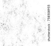 grunge black and white seamless ... | Shutterstock . vector #758508955