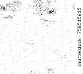 grunge black and white seamless ...   Shutterstock . vector #758515615