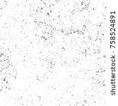grunge black and white seamless ... | Shutterstock . vector #758524891