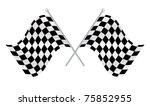 race flag | Shutterstock .eps vector #75852955