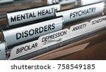 mental health concept. file... | Shutterstock . vector #758549185