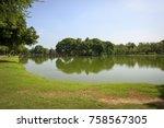 Scenic Of Sukhothai Historical...