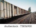 Thai Railroad Container At A...