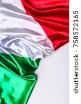 authentic flag of the italy   Shutterstock . vector #758572165