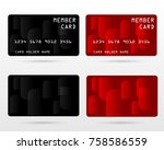 ... Member Card, Business VIP Card, Design For Privilege Member,vector ...  Membership Card Design