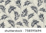 flowers pattern.for textile ... | Shutterstock . vector #758595694