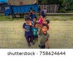 manu national park  peru  ...   Shutterstock . vector #758624644