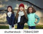 Cute Stylish Girls Outdoors - Fine Art prints
