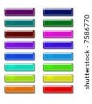 web buttons   Shutterstock . vector #7586770
