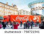 cardiff  united kingdom   ... | Shutterstock . vector #758721541