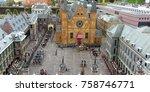 the hague  netherlands in...   Shutterstock . vector #758746771