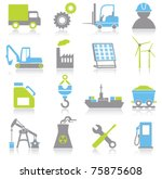 industry icons | Shutterstock .eps vector #75875608
