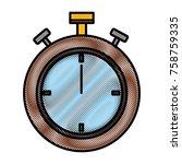 sport chronometer timer icon...