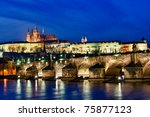View Of The Charles Bridge And...