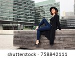 fashion lifestyle photo of... | Shutterstock . vector #758842111