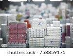turkey   december 25  2014 ... | Shutterstock . vector #758859175
